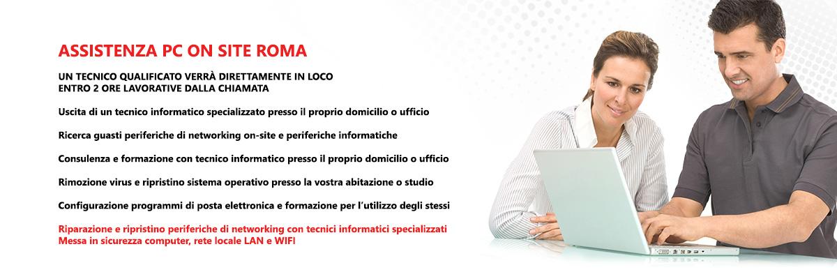 Assistenza Computer a Domicilio Roma